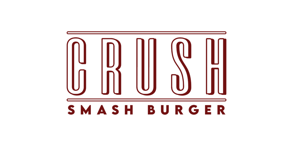 LOGO CRUSH SMASH BURGER